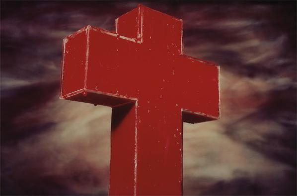 Andres Serrano-Blood Cross-1985