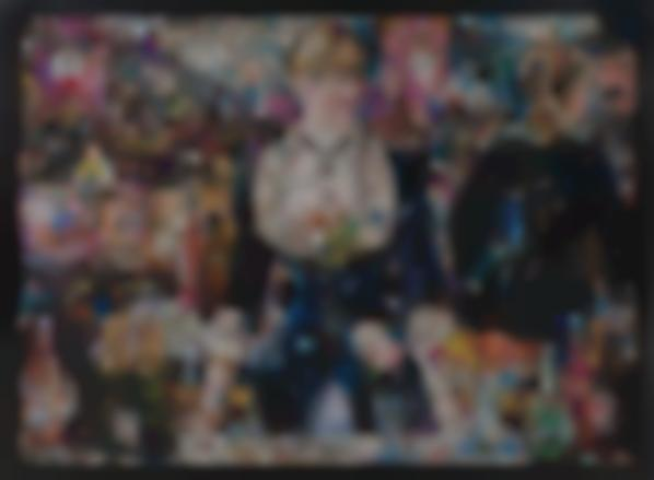 Vik Muniz-A Bar At The Folies Bergere, After Edouard Manet, From Pictures Of Magazines 2-2012