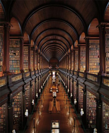 Ahmet Ertug-Trinity College Library, The Long Room, Dublin-2008