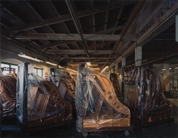 Robert Polidori-Steinway Piano Factory, Astoria Queens, New York-2003