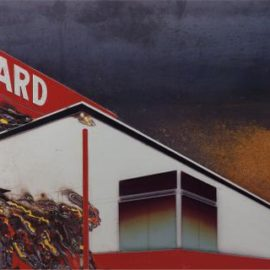 Vik Muniz-Burning Standard, After Ed Ruscha From Pictures Of Cars-2008