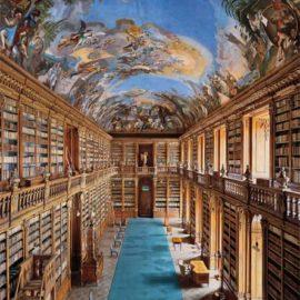 Ahmet Ertug-Strahov Monastery Library, Theological Hall, Prague-2008