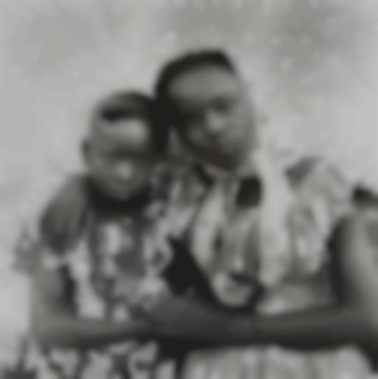 Seydou Keita-Untitled (Two Sisters With Their Arms Around Each Other)-1957