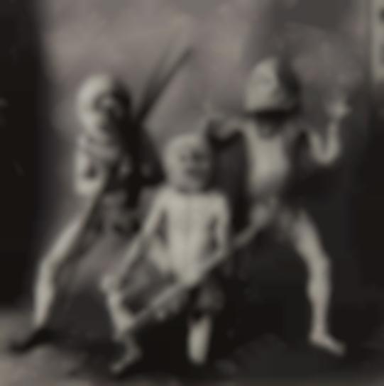 Irving Penn-Three Asaro Mud Men, New Guinea-1970