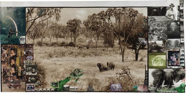 Peter Beard-Tsavo East (Early 60s), (As Bror Blixen Knew It In The 20S + 30S), West Of Daka Dima/ Near The Tiva For The End Of The Game/ Last Word From Paradise-1960