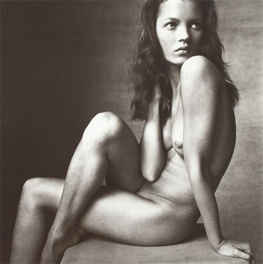 Irving Penn-Kate Moss (Hand On Neck), New York, April 25-1996