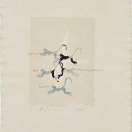 Alighiero Boetti-Senza Titolo (Correre E Discorrere)-1985