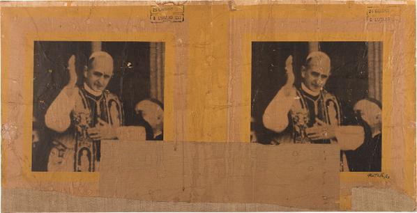 Mimmo Rotella-La Benedizione-1963