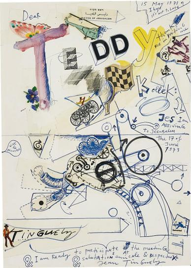 Jean Tinguely-Untitled-1973