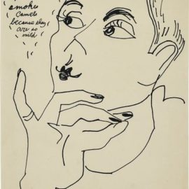 Andy Warhol-Brandon De Wilde Smokes Camels Because They Are So Mild-1980