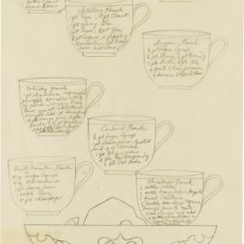 Andy Warhol-Punch Recipes-1955