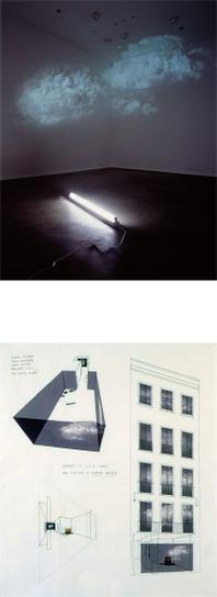 Diana Thater-Two Works: (I) White Is The Color (II) Zwirner & Wirth Exhibition Drawing 1/4-2005