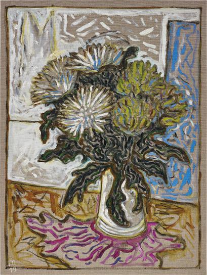 Billy Childish-Chrysanthemums-2014