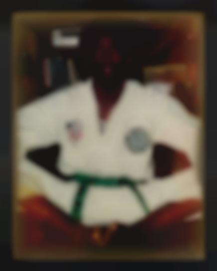 Rashid Johnson-Green Belt-2009