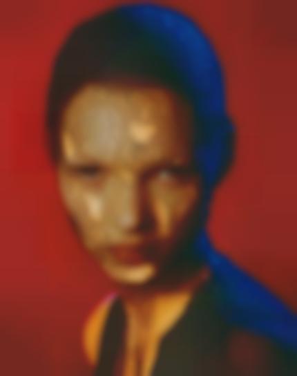 Albert Watson-Kate Moss In Torn Veil, Marrakech, For German Vogue-1993