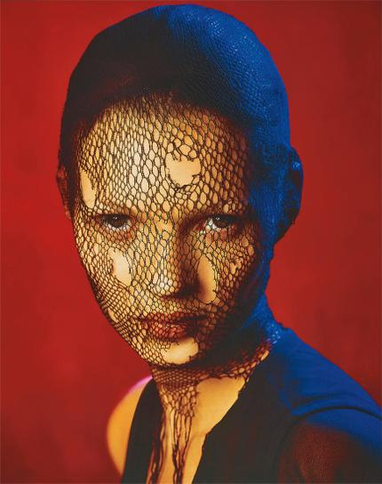 Albert Watson-Kate Moss In Torn Veil, Marrakech, For German Vogue-1993