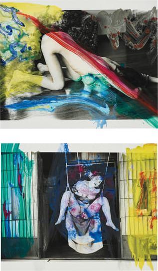 Nobuyoshi Araki-Two Works: I) Shiki-In (Color Eros); II) Shiki-In (Color Eros)-2005