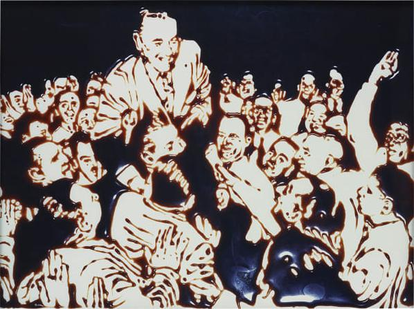 Vik Muniz-Jolly Good Fellow (From Pictures Of Chocolate)-1999