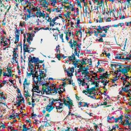 Vik Muniz-Don Quixote In His Study, After William Lake Price-2004