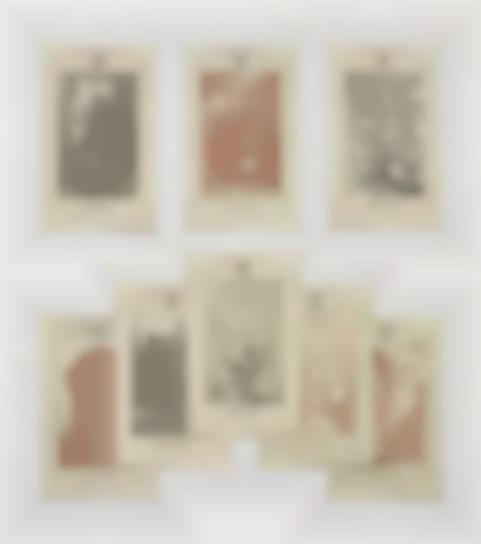 Gilbert and George-Three Works: I) Gentlemen (Postal Sculpture); II) Eight Part Postal Sculpture: Pink Elephants; III) Eight Part Postal Sculpture: Red Boxers-1975