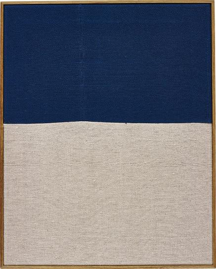 Ethan Cook-Untitled (Blue) #07-2013