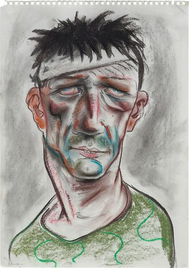 Peter Howson-Muslim Fighter On Drugs-1994