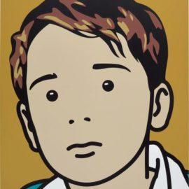 Julian Opie-Sam, Schoolboy.-2001