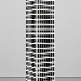 Julian Opie-Modern Tower No. 10.-2001