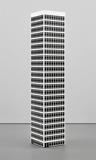 Julian Opie-Modern Tower No. 10.-2001