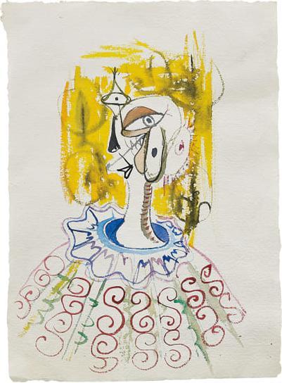 George Condo-Untitled-1985