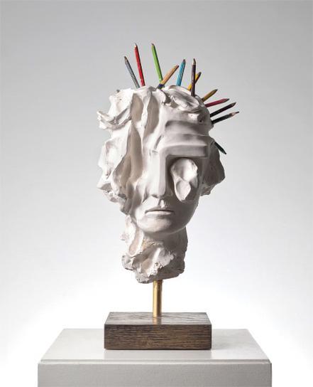 Kevin Francis Gray - Greek Girl (Pencils)-2019