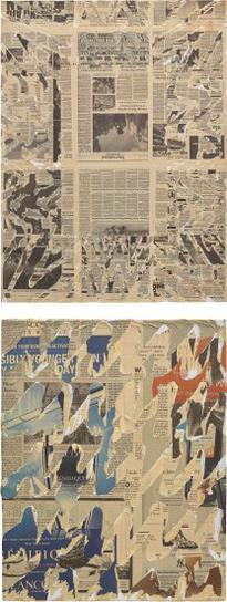 Nikolas Gambaroff-Two Works: I) Untitled; II) Untitled-2010