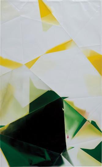 Walead Beshty-Two Sided Picture (Yg), November 21St 2007, Los Angeles, California, Kodak Supra Endura-2008