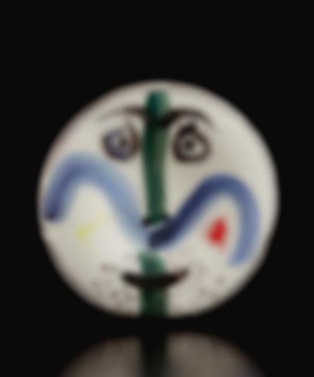 Pablo Picasso-Face No. 130 (Visage No. 130 )-1963