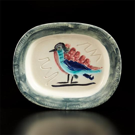 Pablo Picasso-Polychrome Bird (Oiseau Polychrome)-1947