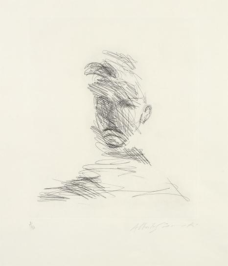 Alberto Giacometti-Rimbaud Vu Par Las Peintres (Rimbaud Seen By The Painters)-1962