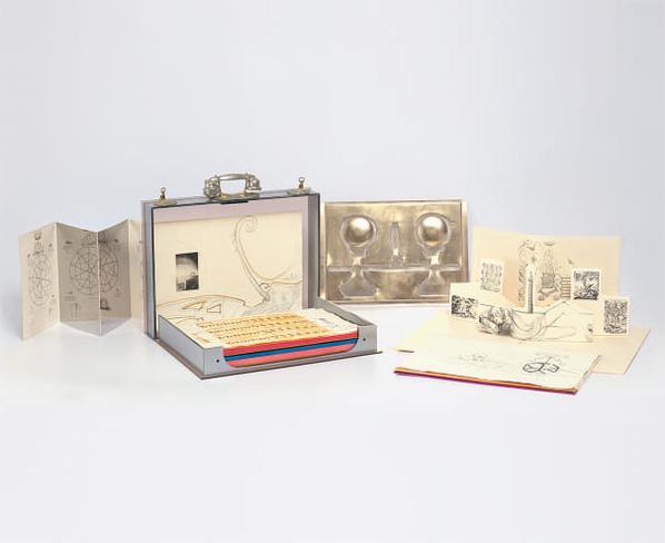 Salvador Dali-Dix Recettes Dimmortalite (Ten Recipes For Immortality)-1973