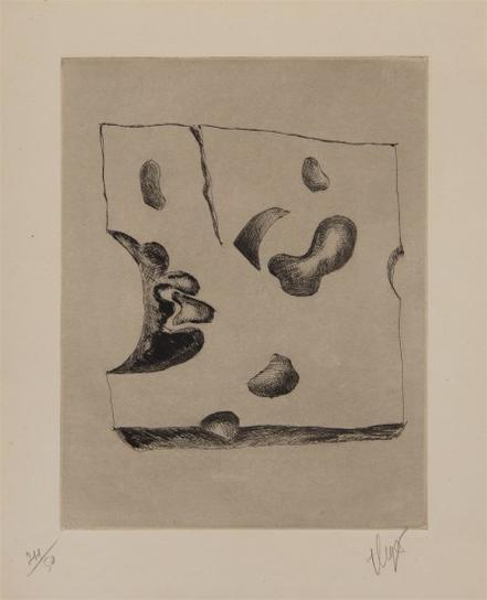 Fernand Leger-Morceau De Gruyere (Piece Of Gruyere), From Album 23 Gravures-1935