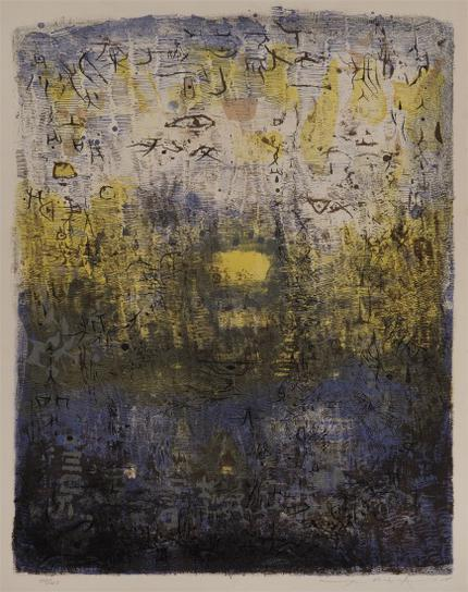 Zao Wou-Ki-Foret Perdue (Lost Forest)-1955