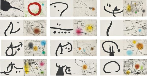 Joan Miro-Lapidari Llibre De Les Propietats De Les Pedres (Lapidary Book Of The Property Of Stones)-1981