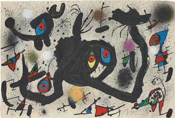 Joan Miro-El Vol De Lalosa (The Flight Of The Lark)-1973