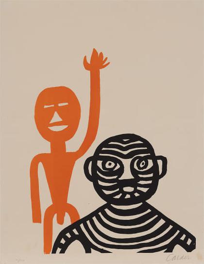 Alexander Calder-Les Affichistes (The Poster Artists)-1965