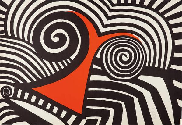 Alexander Calder-Red Nose-1969