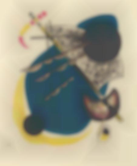 Wassily Kandinsky-Kleine Welten II (Little Worlds II), From Kleine Welten (Little Worlds)-1922