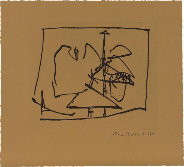 Robert Motherwell-Untitled (State I)-1984