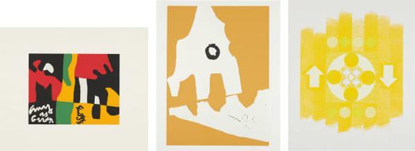 Various Artists - X + X (Ten Works By Ten Painters): Three Works-1964