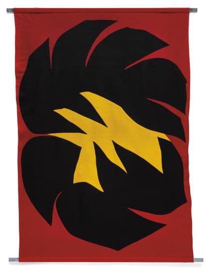 Jack Youngerman-Felt Banner-1965