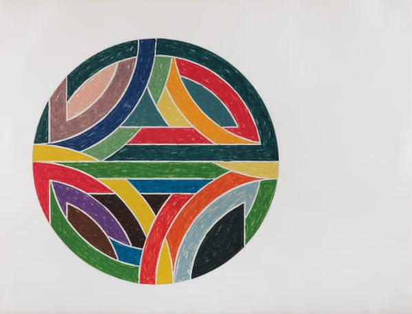 Frank Stella-Sinjerli Variation IV, From Sinjerli Variations-1977