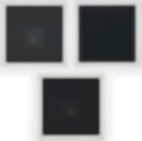 Josef Albers-Gray Instrumentation I D; Gray Instrumentation I E; Gray Instrumentation I H, From Gray Instrumentation I Portfolio-1974