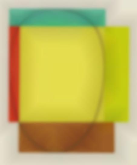 Robert Mangold-Five Color Frame-1985